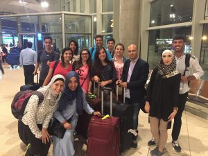 YALLAH - Palestinian Students' arrival in Germany